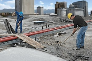 Roofing Tear-off by Salt lake City Flat Roofing Experts